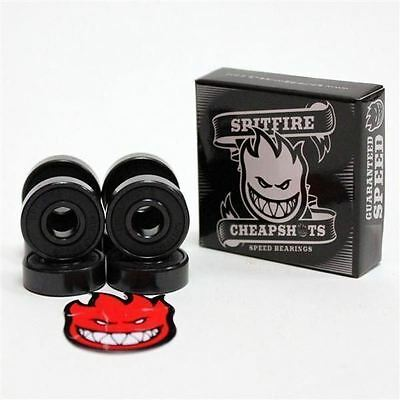 Spitfire Bearings Cheap Shots + FREE Skateboard Sticker BRAND NEW CHEAPSHOTS