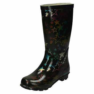 WHOLESALE Girls Wellingtons / Sizes 12x5 / 14 Pairs / X1035