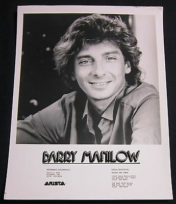 BARRY MANILOW—c.1980 PUBLICITY PHOTO