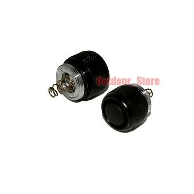 2pcs New Tailcap Click On/Off Switch For UltraFire WF-502B Flashlight Torch