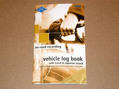 Zions VTED on-road recording Vehicle Log Book with travel & expenses record