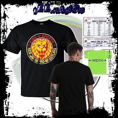 NJPW NEW JAPAN PRO WRESTLING Logo Bullet club Mens T Shirt S to 4XLT