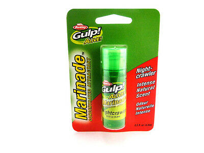 Berkley Gulp Alive Marinade Trout Freshwater Bait Scent Attractant Select Flavor