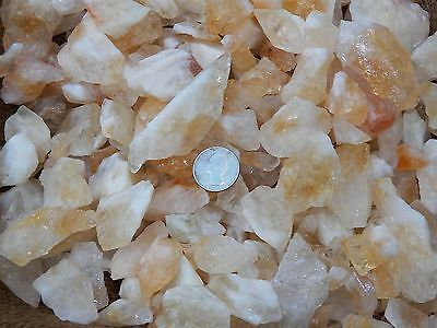 3000 Carat Lots of Citrine Rough - Plus a FREE Faceted Gemstone