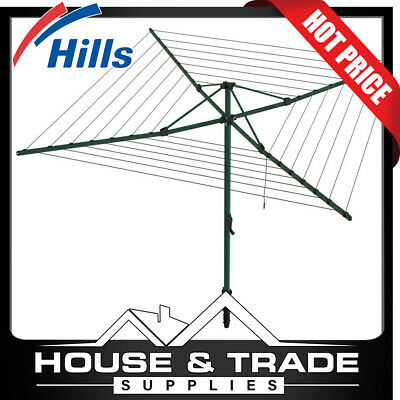 Hills Everyday 47 Rotary Hoist Clothes Line 47 Metres FD88012 Clothesline