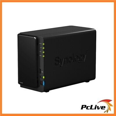 SYNOLOGY DISKSTATION DS216 2-Bay NAS Media Server USB 3 0 Network Storage  Backup