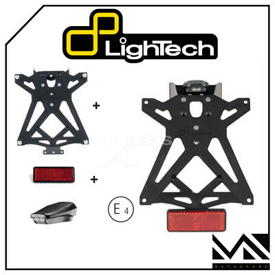 Kit Porta Targa Regolabile Lightech Ktardu107 Ducati Monster 696 Dal 2008 > 2013