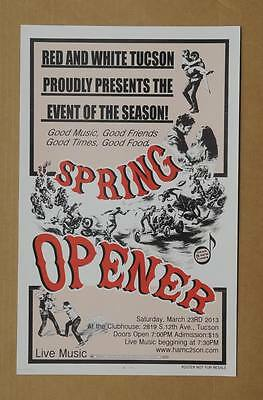 Hells Angels Tucson - 2013 Spring Opener - Support Party Event Poster