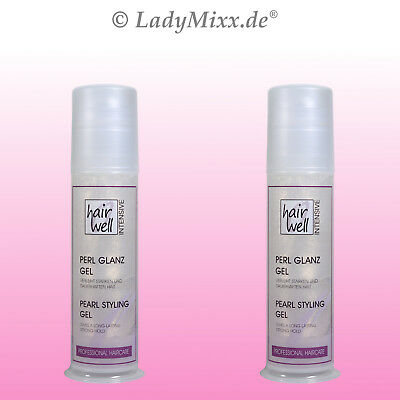 2x100 ml Pearlstyler PEARLSTYLING Pearl Styler HAIRWELL EURODOR strong hold