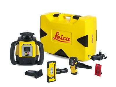 Leica Rugby 680 Self-leveling horizontal laser, dial-in grade, dual axis, Tripod