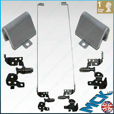Hp Pavilion G6 Screen Hinges Brackets Caps Pair Left Right 637191-001 639511-001