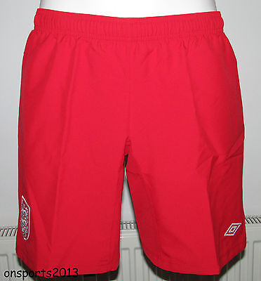 Ladies Umbro  England Home 2012 Change Shorts Size 12 Bnwt