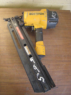 "Stanley Bostich N60Fn 2"" To 3-1/2"" 15Ga Finish Air Nailer Used Free Shipping"