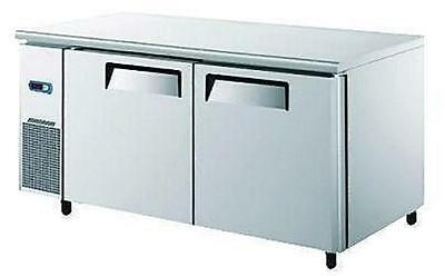New Commercial Two Door Fridge/ Refrigerated Prep Counter Table