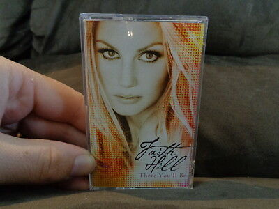 FAITH HILL_There You'll Be_used Cassette_ships from AUSTRALIA!
