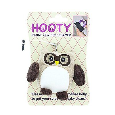 Brown Owl Hooty Cute iPhone iPod iPad Smart Phone Microfibre Screen Cleaner NEW