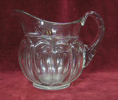 Vintage Heisey Colonial Pattern 72 Oz pitcher