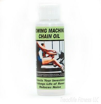 Rower CHAIN OIL, Lube, REQUIRED MAINTENANCE, rowing machine, works on Concept 2