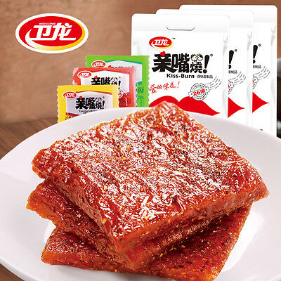 1x400G Chinese specialty snack food Weilong spicy tofu cooked gluten 卫龙亲嘴烧 辣条