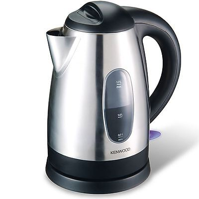 Kenwood SJM250 Cordless 1.7L 3kw Brushed Stainless Steel Jug Kettle