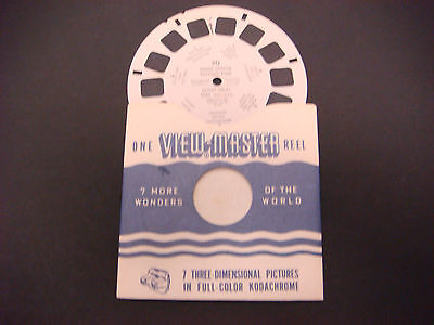 Sawyer's Viewmaster Reel,1948,Grand Canyon National Park Bright Angel Trail #30