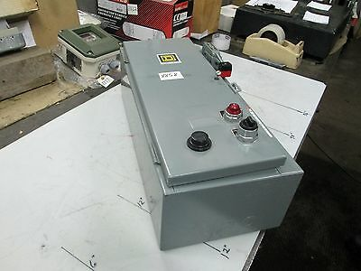 Square D Combination Motor Starter P/N 8538SBG 30A Disconnect/Breaker (NEW)