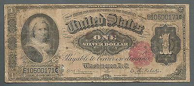 "★FR 221 1891 $1 ONE DOLLAR LARGE SIZE ""MARTHA"" SILVER CERTIFICATE NOTE★"