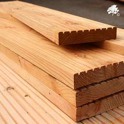Untreated English Larch Decking