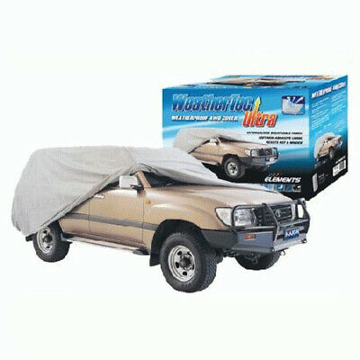 Weathertec Ultra 4X4 4wd Car Cover Large Uv Weatherproof Breathable Cc36