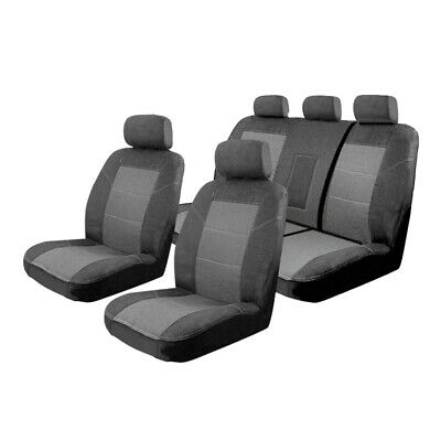 Car Seat Covers Holden Colorado Crew Cab Dual RG LTZ 6/2012-8/2016 Airbag Safe