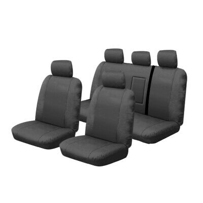 Canvas Seat Covers Holden Colorado RG LTZ Crew Cab 6/2012-8/2016 Airbag 2 Rows
