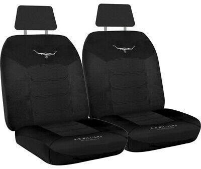 Rm Williams Longhorn Mesh Car 4wd Seat Covers Rmw Airbag Safe