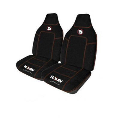 Genuine Holden Hsv Seat Covers Size 60 Red Piping Hrt Commodore Vt Vx Vy Vz Ve R