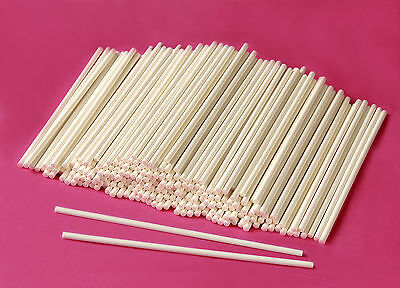 CAKE POP STICKS / STIELE✰ LOLLIPOP STIELE ✰ PAPIERSTIELE  ✰ 12 cm x 0,4 cm