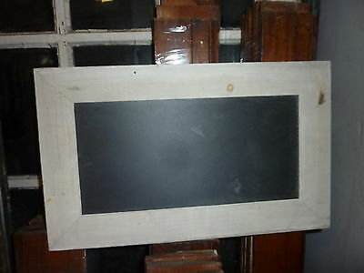 "Salvaged roof SLATE repurposed WITH salvaged molding as frame 20"" x 12.25"""