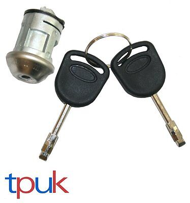 Ignition Lock Repair Kit (Barrel) With 2 Keys Ford Focus 1998-2005 Brand New