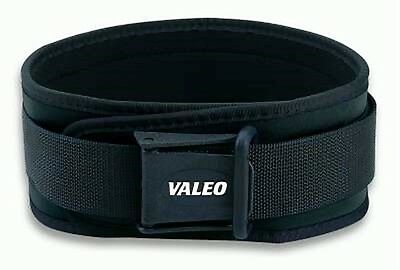 "Valeo CLASSIC LIFTING BELT Memory Foam Support 4"" VCL CFT Ocelot Weightlift"