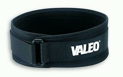 "VALEO Performance Low-Profile 4"" Lifting Belt Weight Lifting Cross Training"