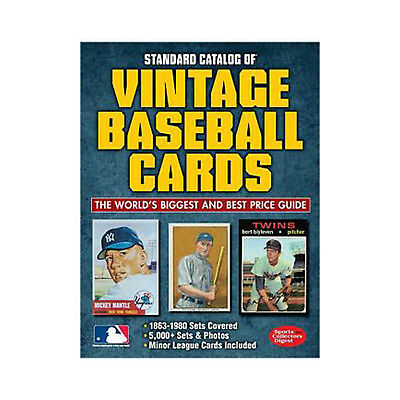 Standard Catalog of Vintage Baseball Cards 2nd Edition Price Value Guide