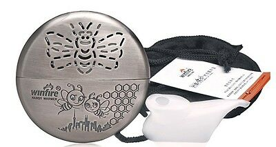 Winter Warmed METAL Portable HAND WARMER REUSABLE For FISHING OUTDOOR CAMPING