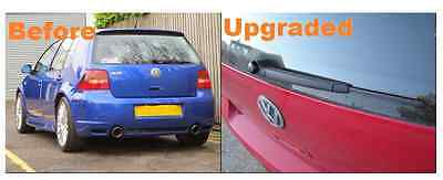 VW Volkswagen Golf Mk4 Hatchback Rear Back Wiper Arm With Blade and Cap Upgrade
