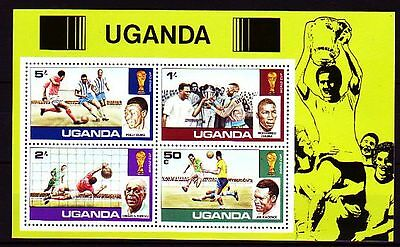 Uganda 1978 ** Bl.9 Fußball Football FIFA World Cup Sport [sq2866]