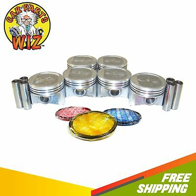 Pistons and Rings Fits  87-95 Jeep Cherokee Grand Cherokee Wrangler 4.0L OHV