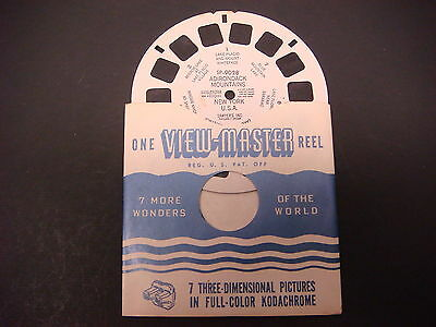 Sawyer's Viewmaster Reel,Adirondack Mountains New York,SP-9028