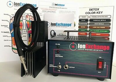IonExchange Detox Ion Ionic Foot Bath Foot Detox Spa Cleanse Machine!