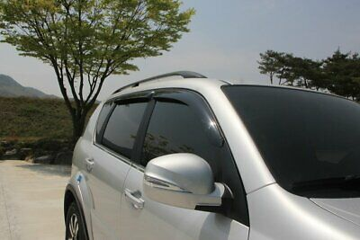 For Ssangyong Rexton 2003 - 2013 Wind Deflectors Set - 5 door (4 pieces)