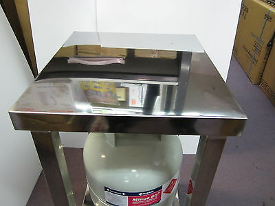 Gas burner stand cooker bench stove table full stainless steel heavyduty 45x40cm