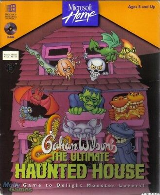 THE ULTIMATE HAUNTED HOUSE GAHAN WILSON +1Clk Windows 10 8 7 Vista XP Install