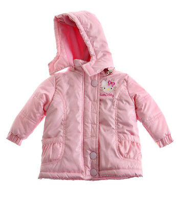 Baby Girls Official Sanrio Hello Kitty Hooded Jacket Coat 6-12 Months