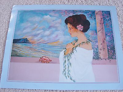 Diana Hansen-Young 1993 Hawaiian Picture Print